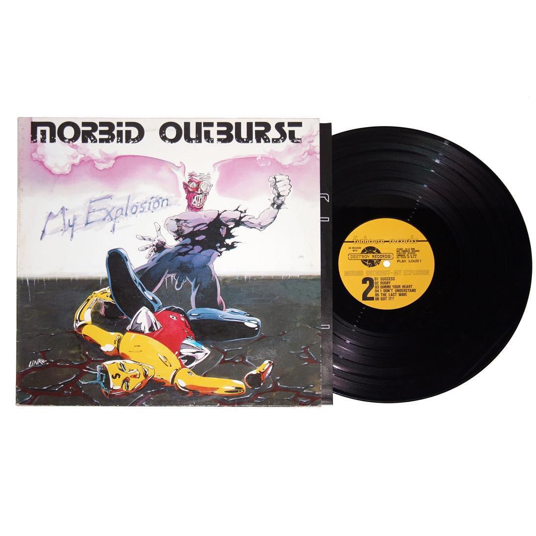 Morbid Outburst - My Explosion Vinyl