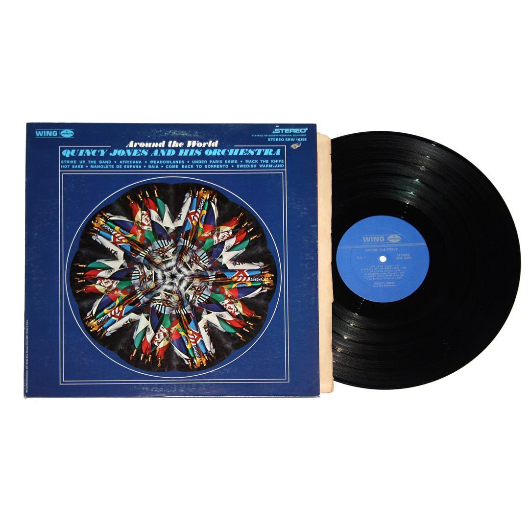 Quincy Jones and His Orchestra - Around The World Vinyl