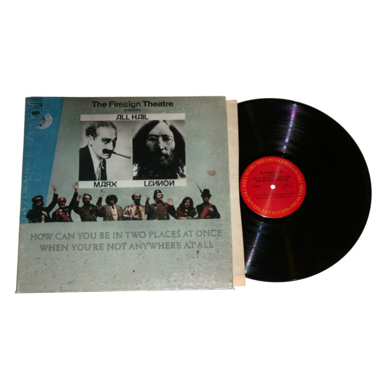 The Firesign Theatre - How Can You Be In Two Places At Once When You're Not Anywhere At All Album