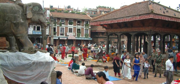 4 augustus 2005 Kathmandu