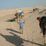 28 april  2009 Matmata – Bedoeïenentent in Sahara