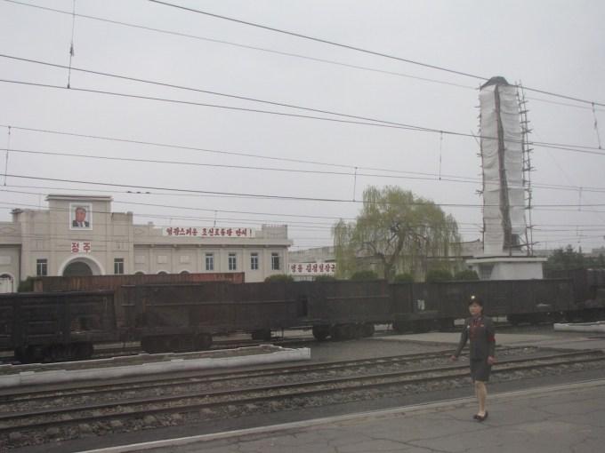 24 april 2012 trein naar Pyongyang