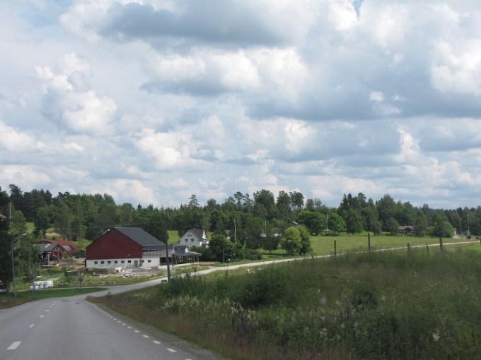 9 juli 2012 Oslo – Sunne – 59° 52'N 13° 05'E