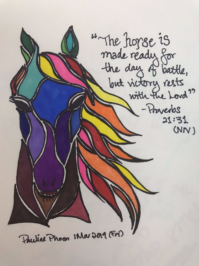 Whole Horse of Parts