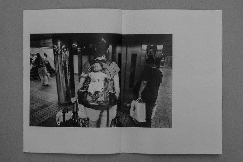 © David J Carol, 14cm x 20cm, 36 pages, b/w digital, edited by Craig Atkinson, published by Café Royal Books, edition of 250, 2014