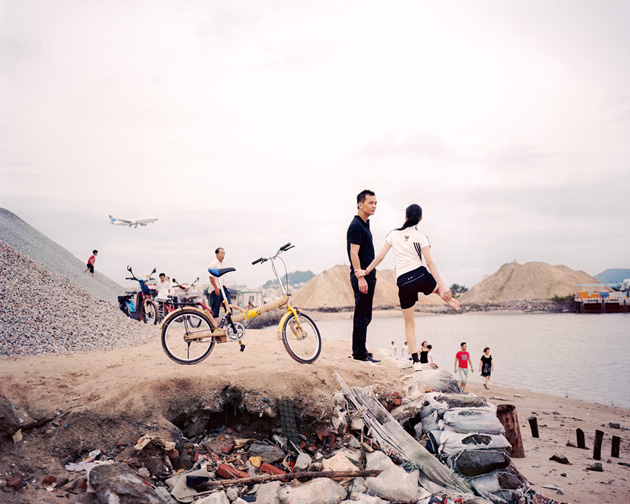 "© ZHANG XIAO, from the series ""Coastline"""