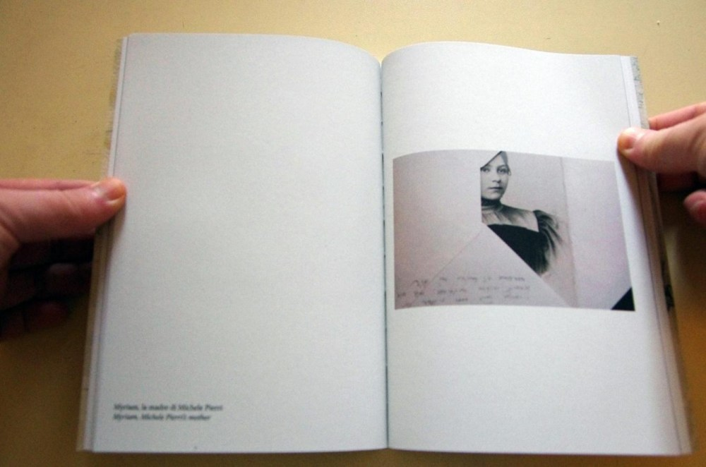 © Aminta Pierri, 15 cm X 21 cm, 96 pages, photographs and 7 poems, introduction of Lina Pallotta, hand numbered, limited edition of 150