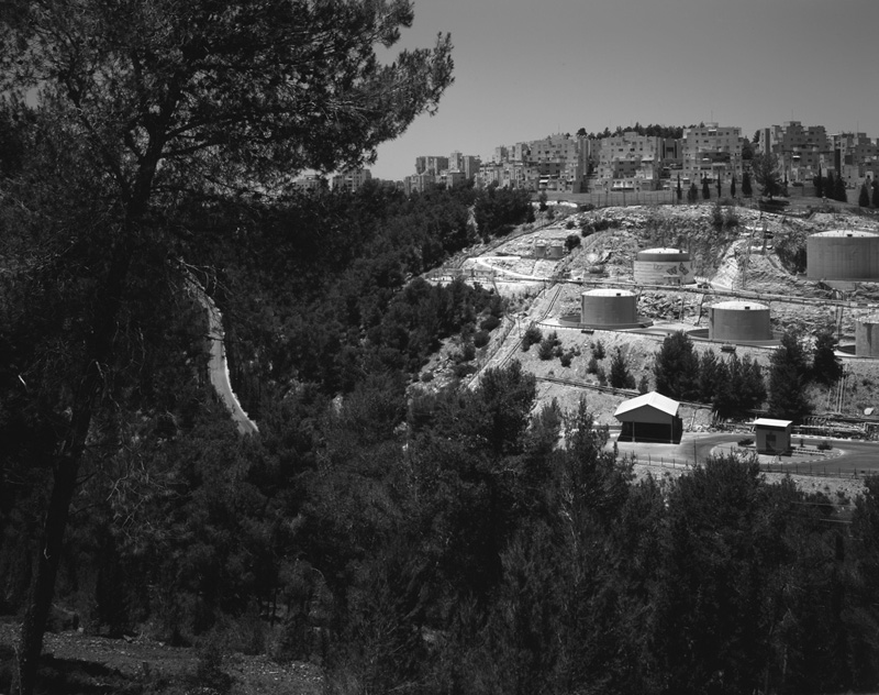 © Yaniv Waissa, View over Pi-Glilot Terminal, Jerusalem, 2012