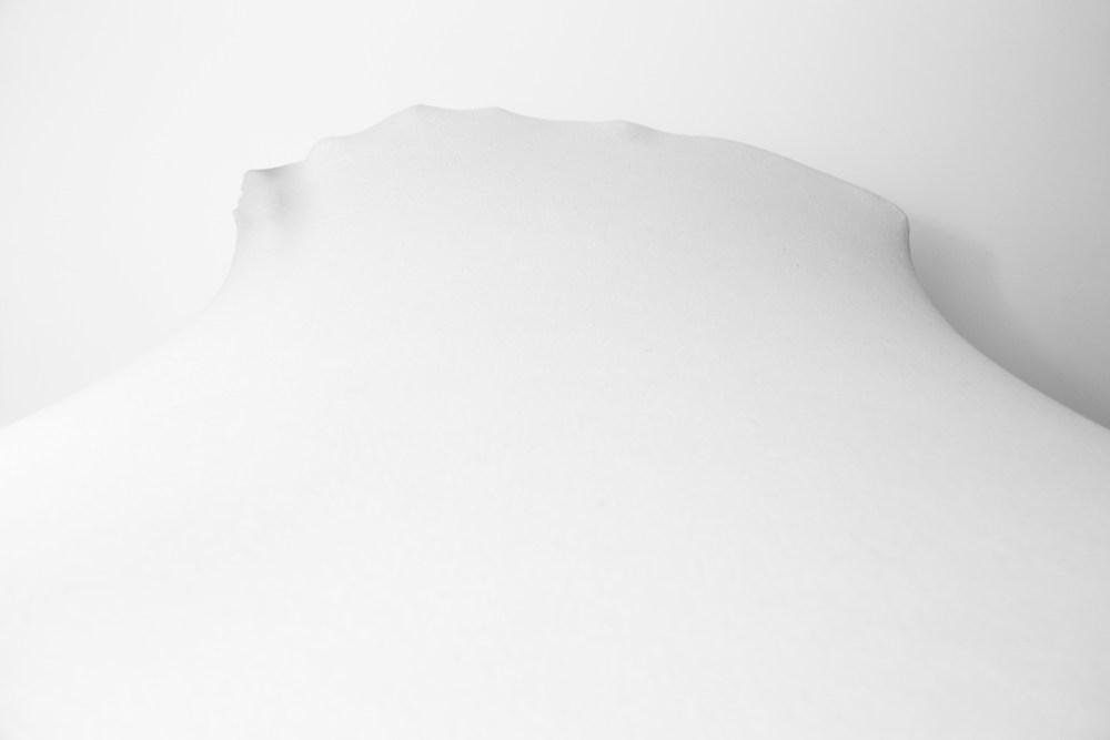 "© Chiara Mazzocchi, from the series ""White Metamorphosis"", Selfportrait, 2015"