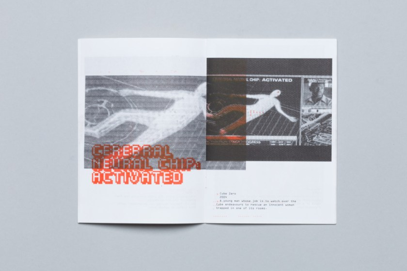 © Carsten Nierobisch, Riso Print Black/Red, 28 pages, red slipcase, red staples, edition of 28