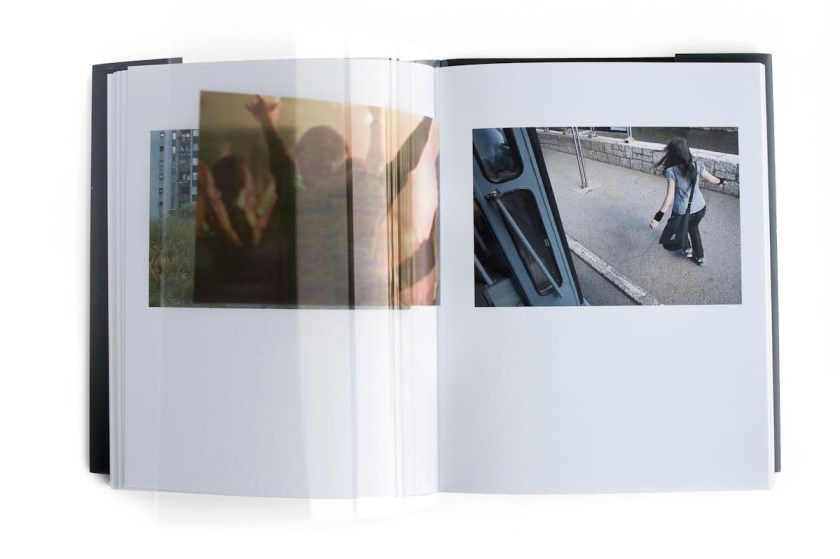 © Italo Morales, 15,5×20 cm closed / 31×20 cm open, 128 pages, 4 color offset printing, hand-sewn binding with hardcover and dust jacket