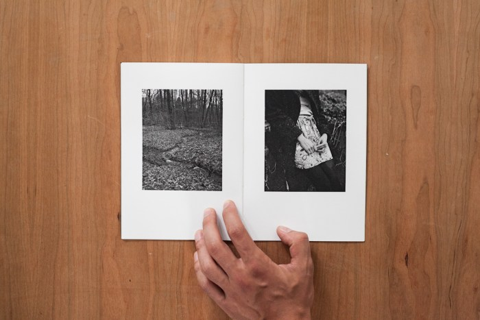 © Peter Sit, A5, 20 pages, softcover, cover MarekNový (blindprint), 3 color and 6 black-and-white images, published by APART, edition of 51 (numbered and signed), 2013