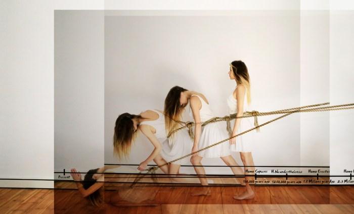 © Chiara Mazzocchi, Involution N°2 / Inverse-Evolution-Chaos / Selfportrait, 2015