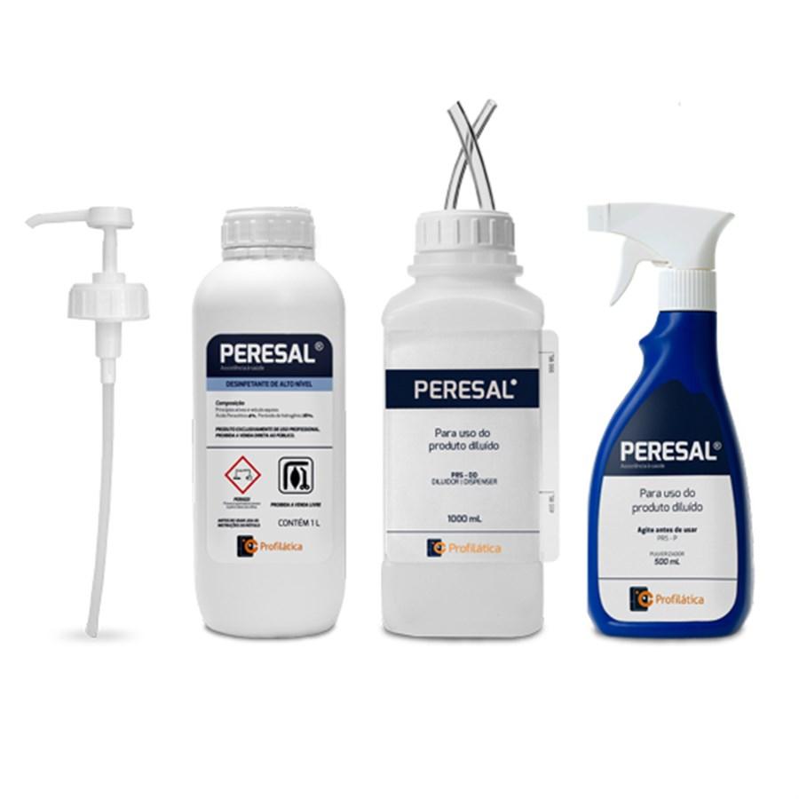 Kit Peresal – Desinfetante Alto Nível – 1000 ml