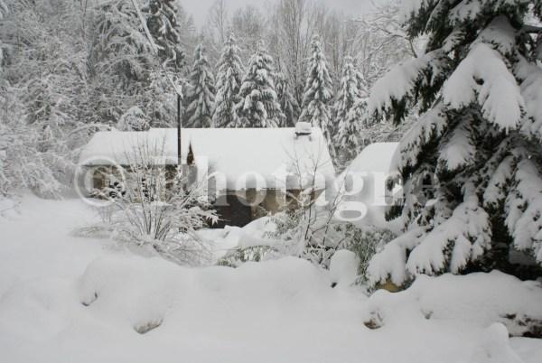 Une maison sur le plateau d'Esmoulières