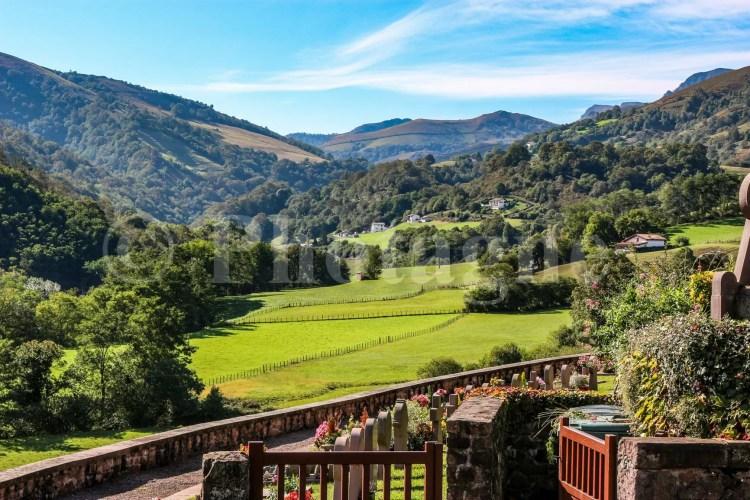 Le vert pays Basque depuis Bidarray