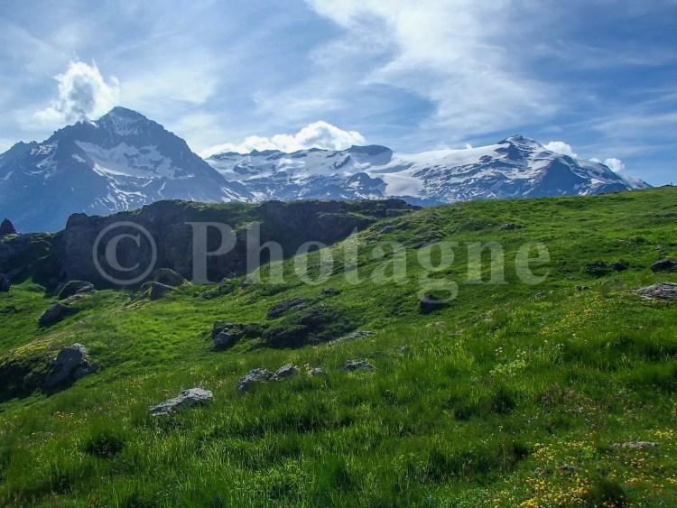 Bivouac en face des glaciers de la Vanoise