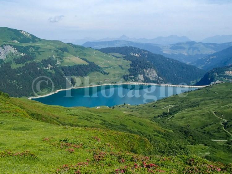 Le lac du Roselend