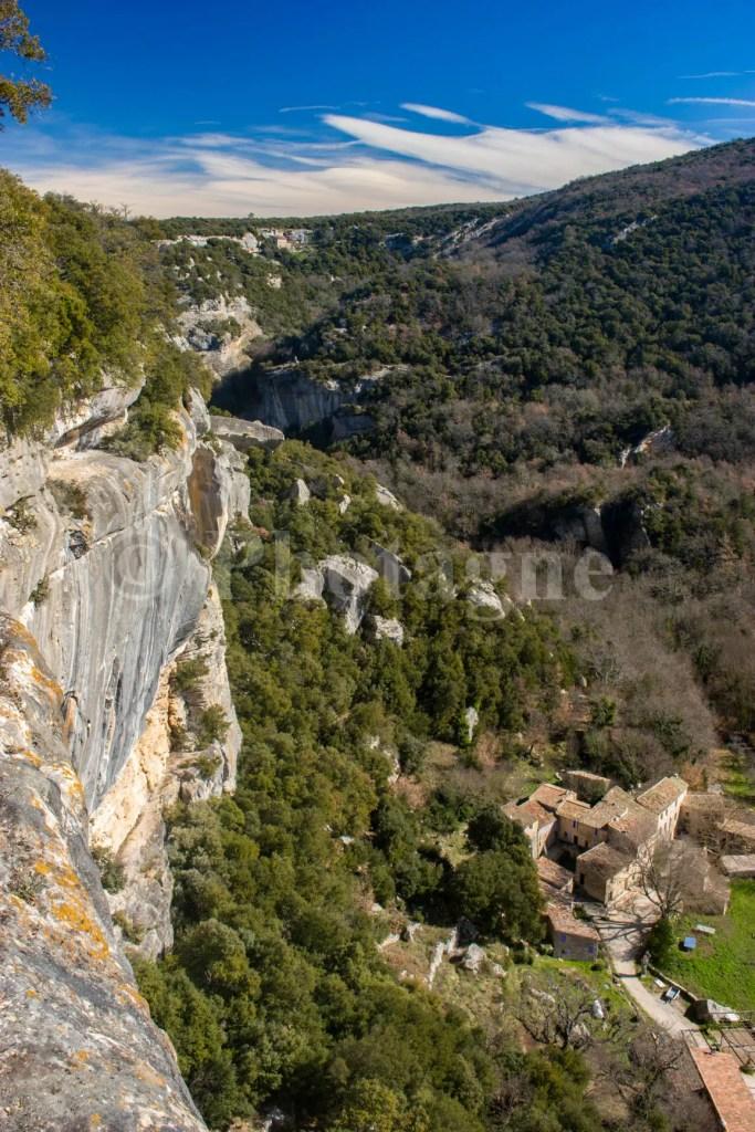 Les gorges de l'Aigue Brun, près de Buoux