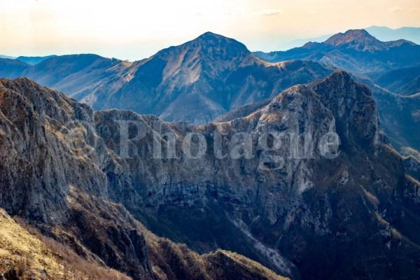 La crete du Monte Forato