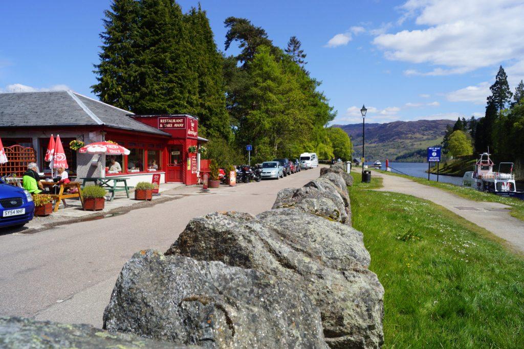Restaurant near Loch Ness Lake