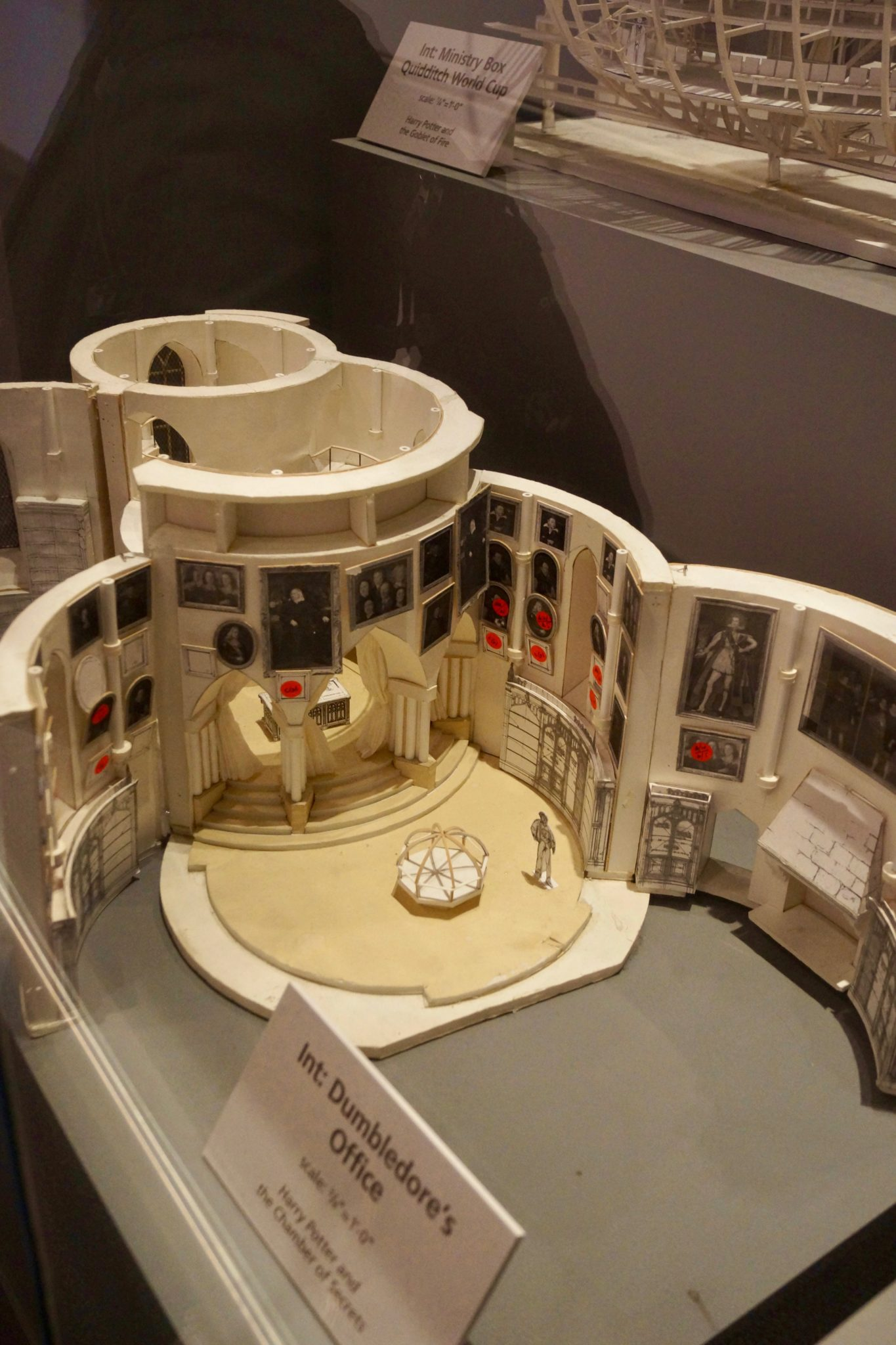 Dumbledore's Office Model at Harry Potter Model Shop