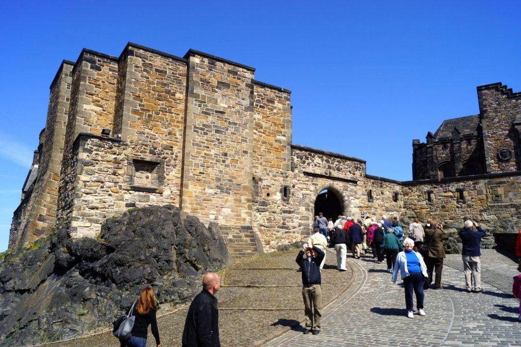 Foog's Gate at Edinburgh Castle
