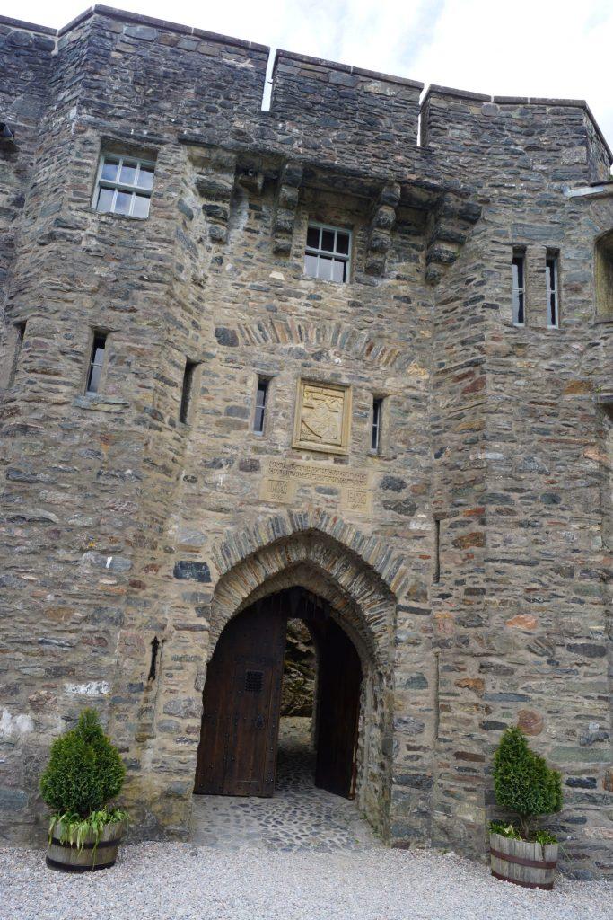 Entrance to Eilean Donan Castle