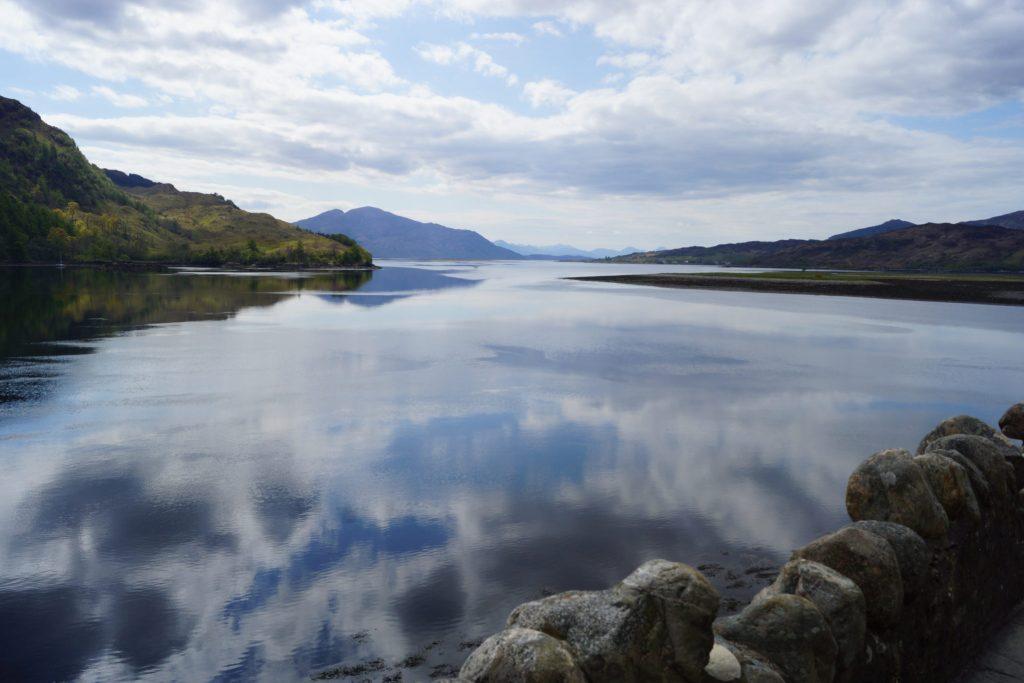 Lake view from Eilean Donan Castle
