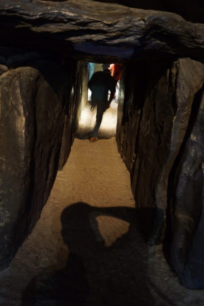 Replica of Newgrange Passage