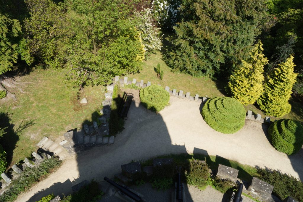 View from Pepperpot Tower at Powerscourt