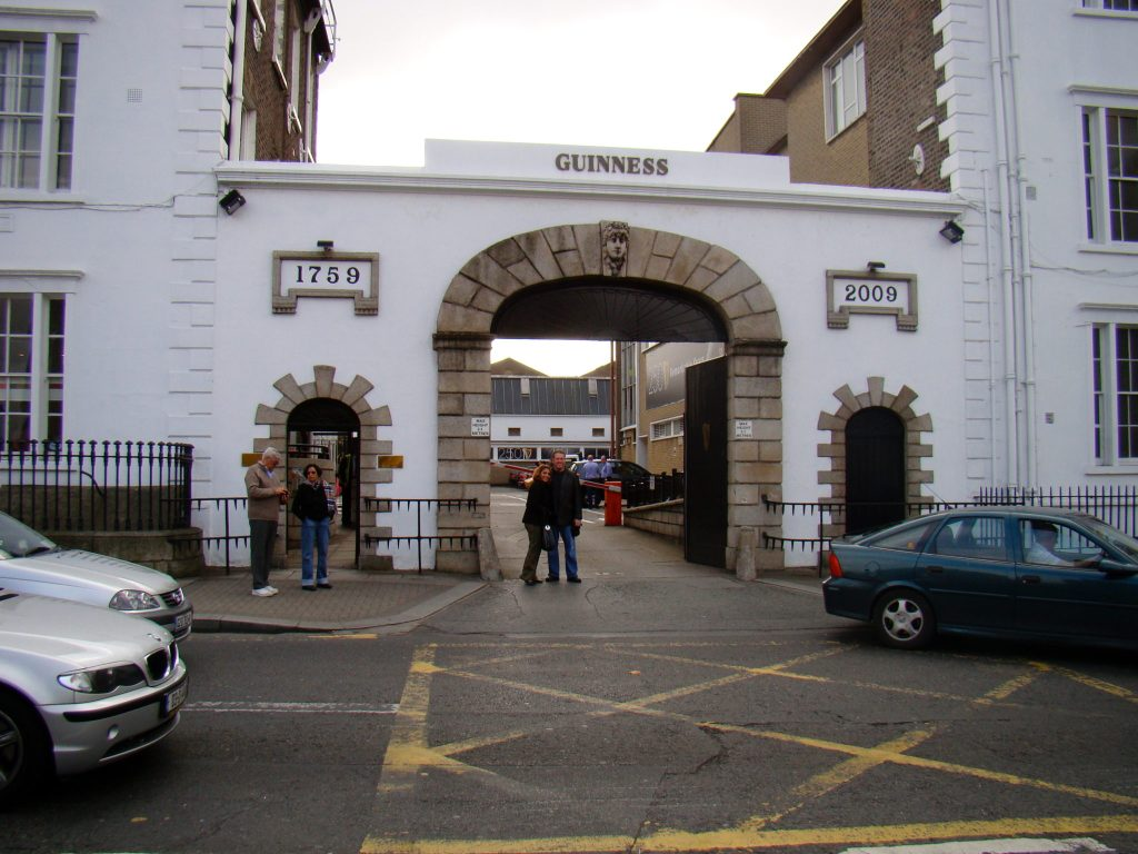 St. James Gate Guinness Brewery