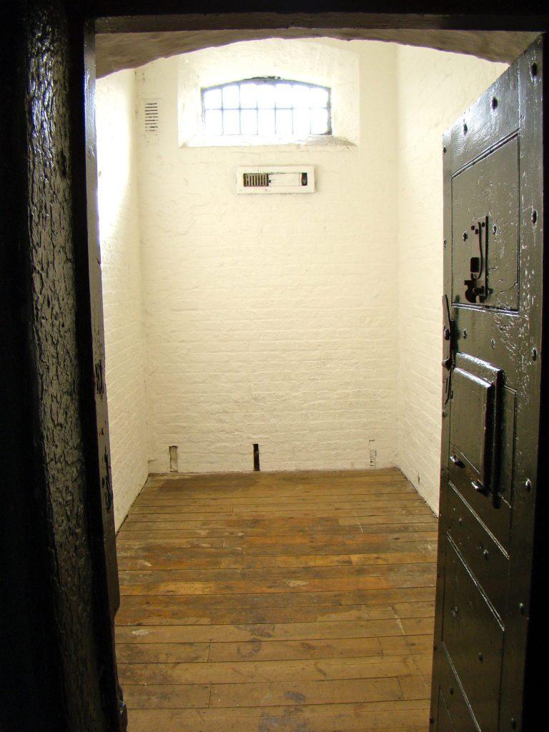 Small cell interior at Kilmainham Gaol