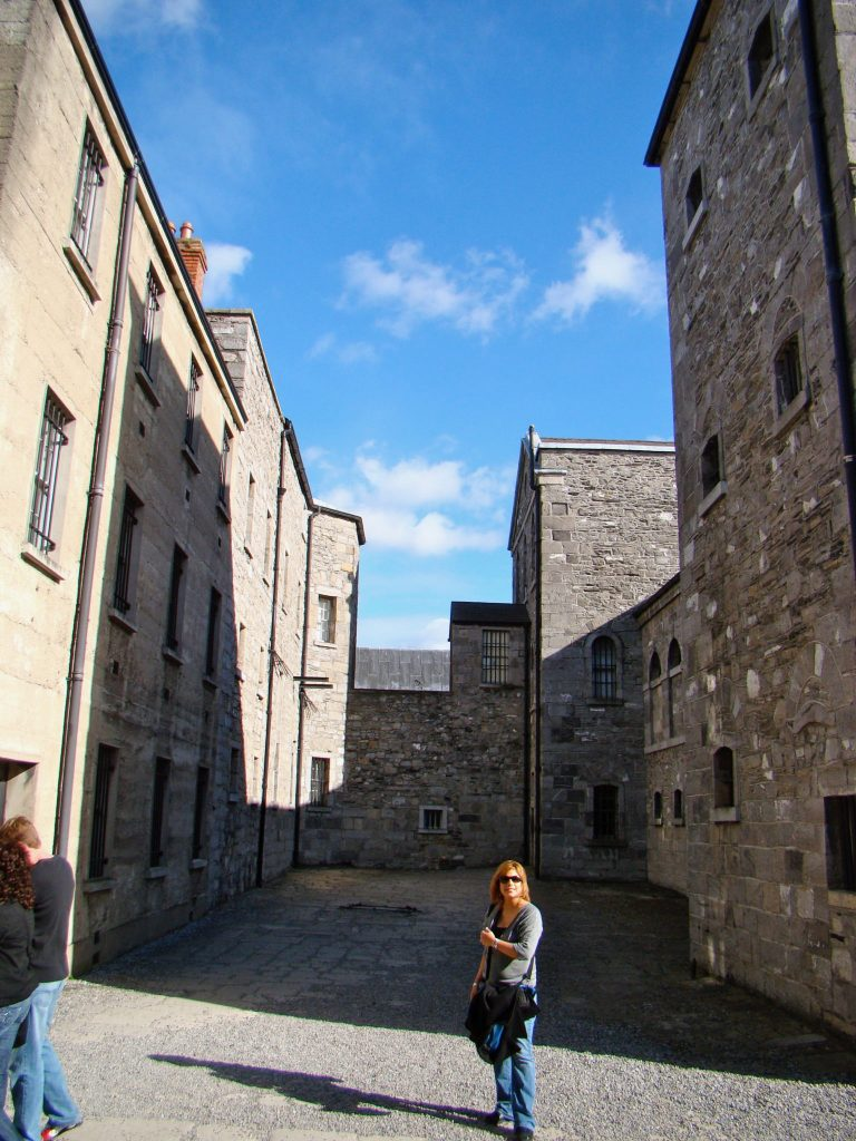 Yard at Kilmainham Gaol
