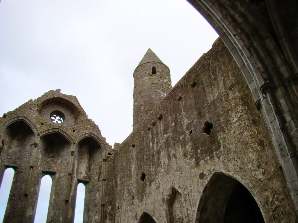 Round Tower inside of the Rock of Cashel