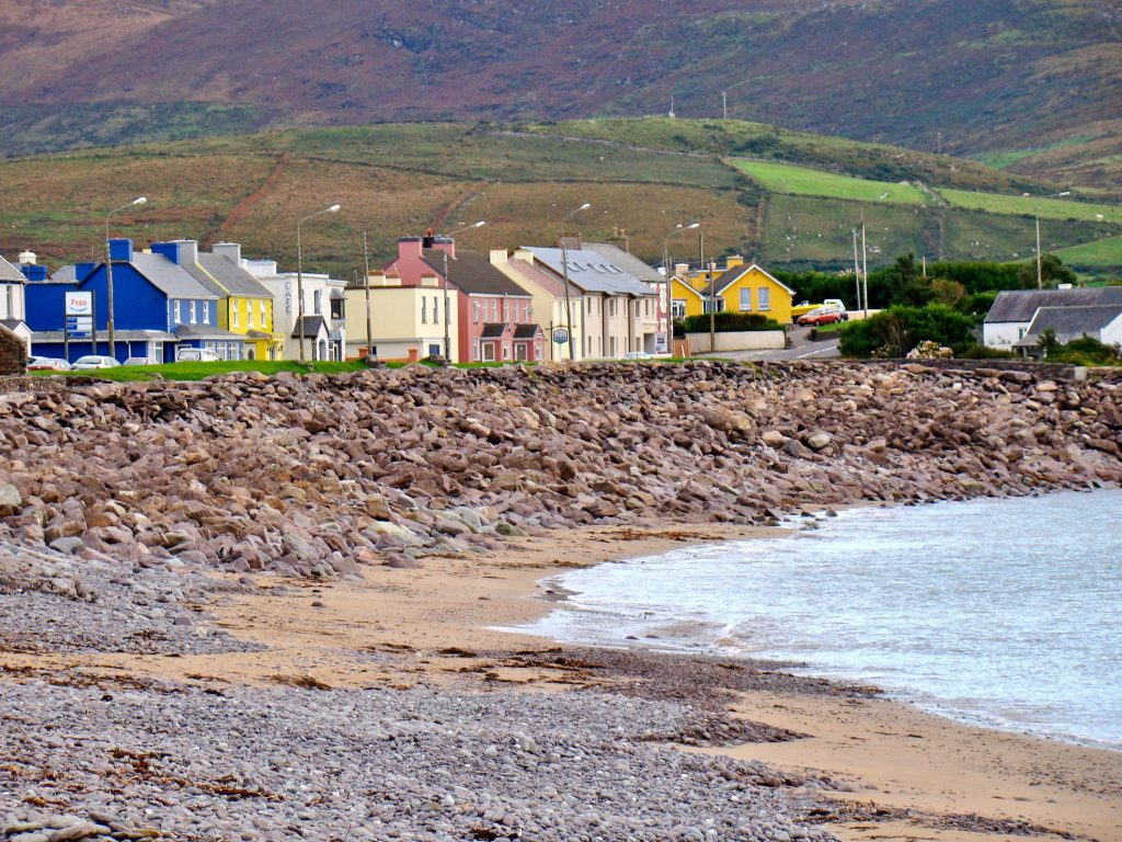 Town of Waterville on the Ring of Kerry