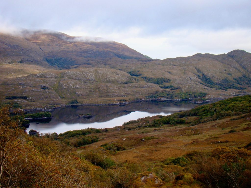 Ladies View in Killarney National Park on Ring of Kerry