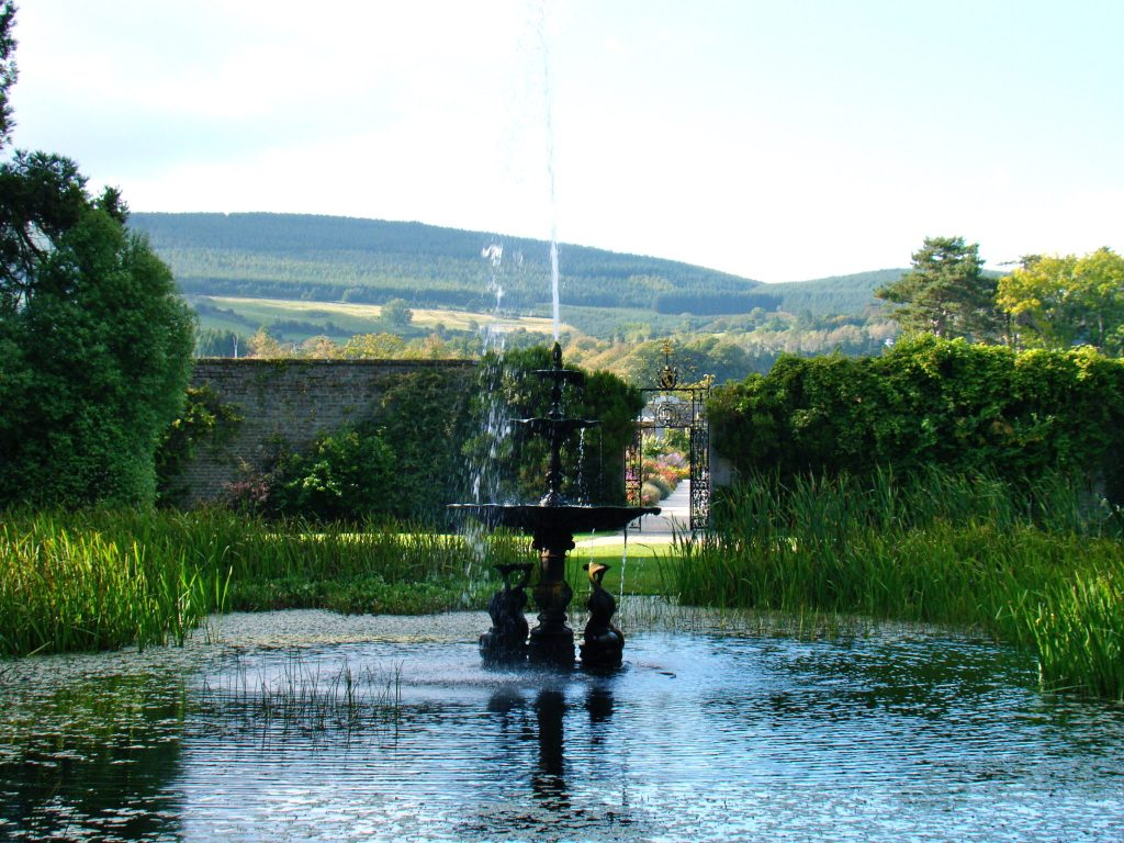 Powerscourt Gardens Powerscourt Estate