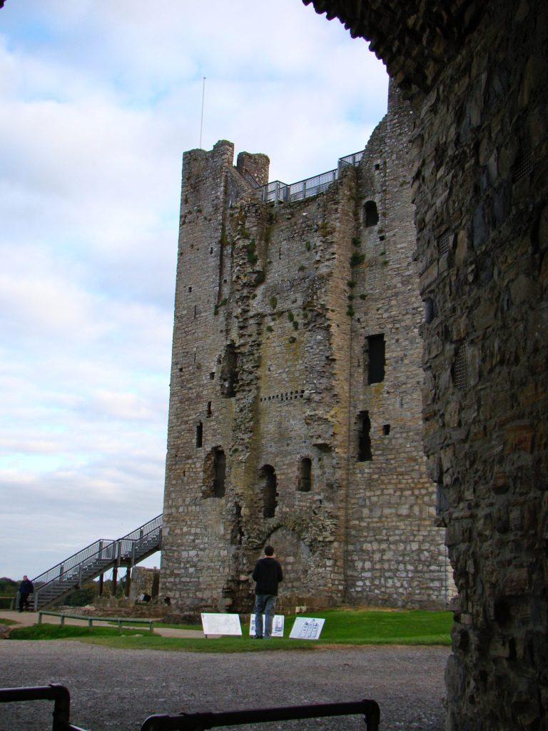 Interior of Trim Castle