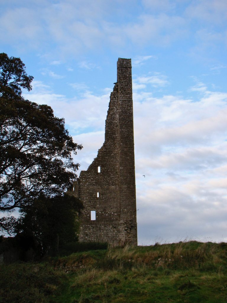 Ruins of St. Mary's Abbey in Trim