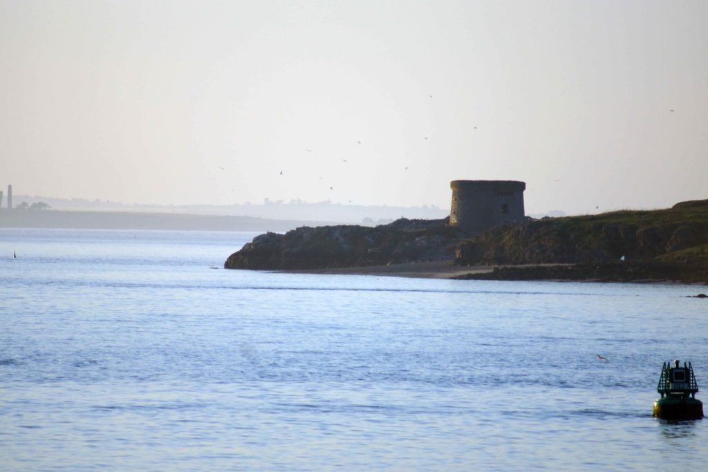 Martello Tower on Ireland's Eye island