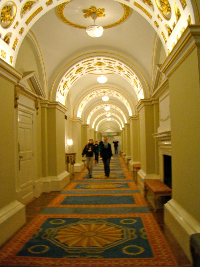 State Corridors at Dublin Castle