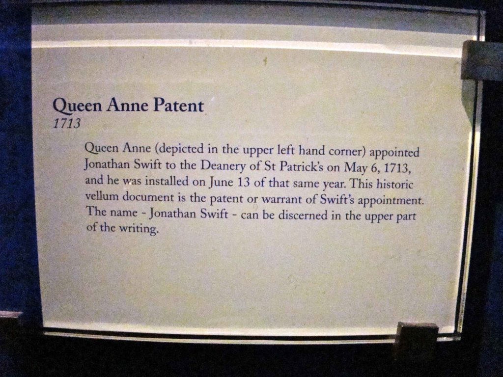 Queen Anne Patent