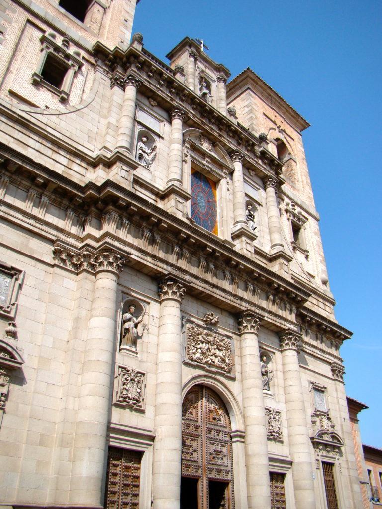 Iglesia de San Idelfonso, Toledo, Spain,Toledo Spain