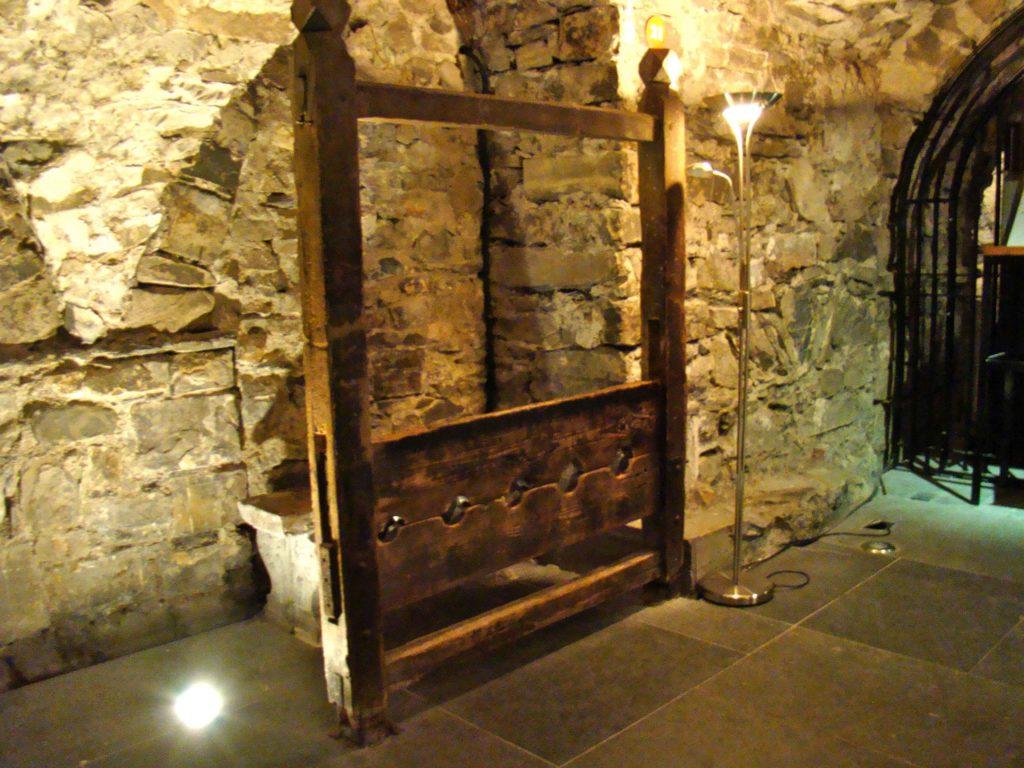 Stockades in the Christ Church Dublin Crypt