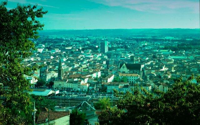 Vue de la ville d'Agen                 © photo Patrick Clermont