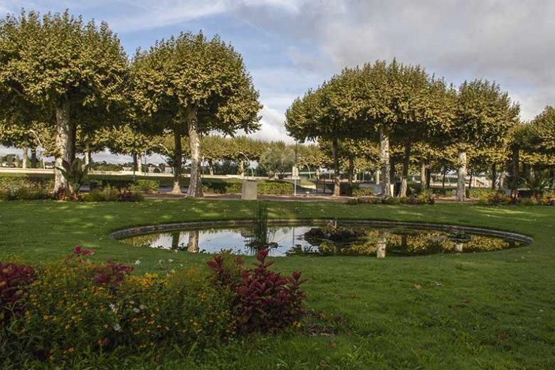Le jardin du Gravier avec ses bassins