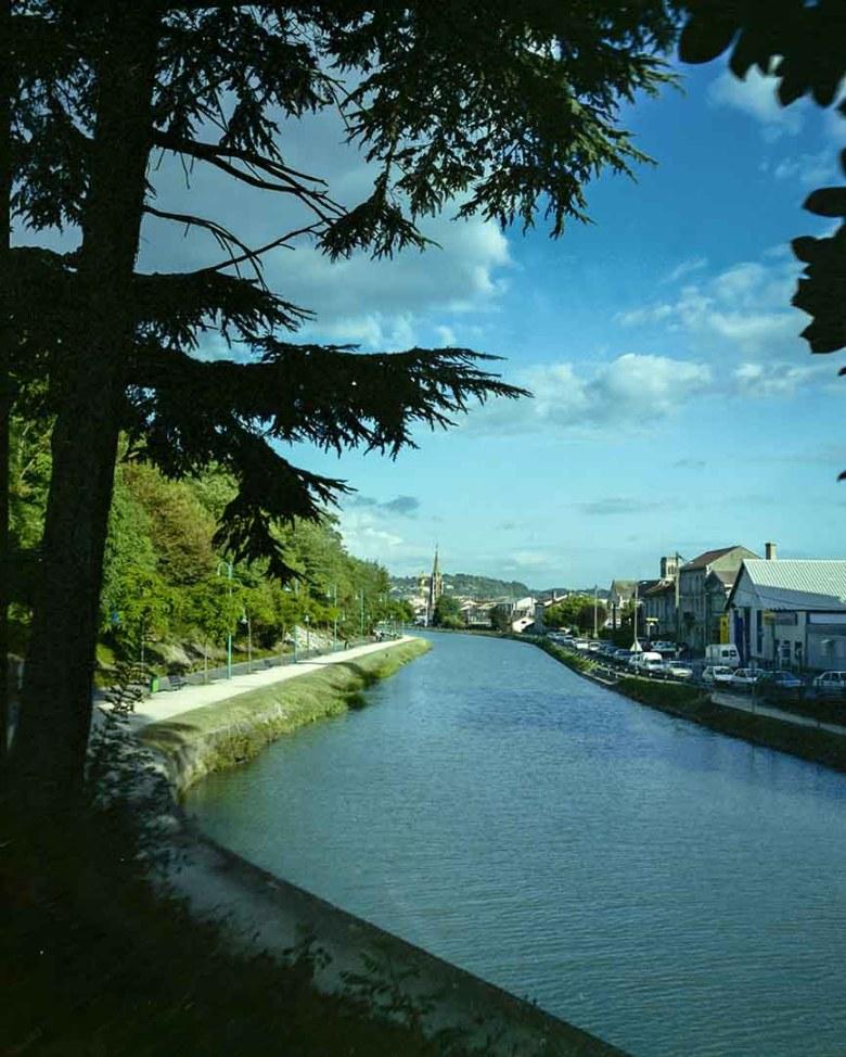 le canal à Agen