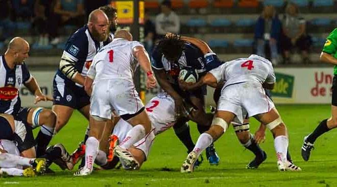 Agen Biarritz match rugueux