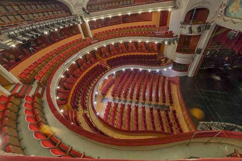 Intérieur du Théâtre Ducourneau à Agen